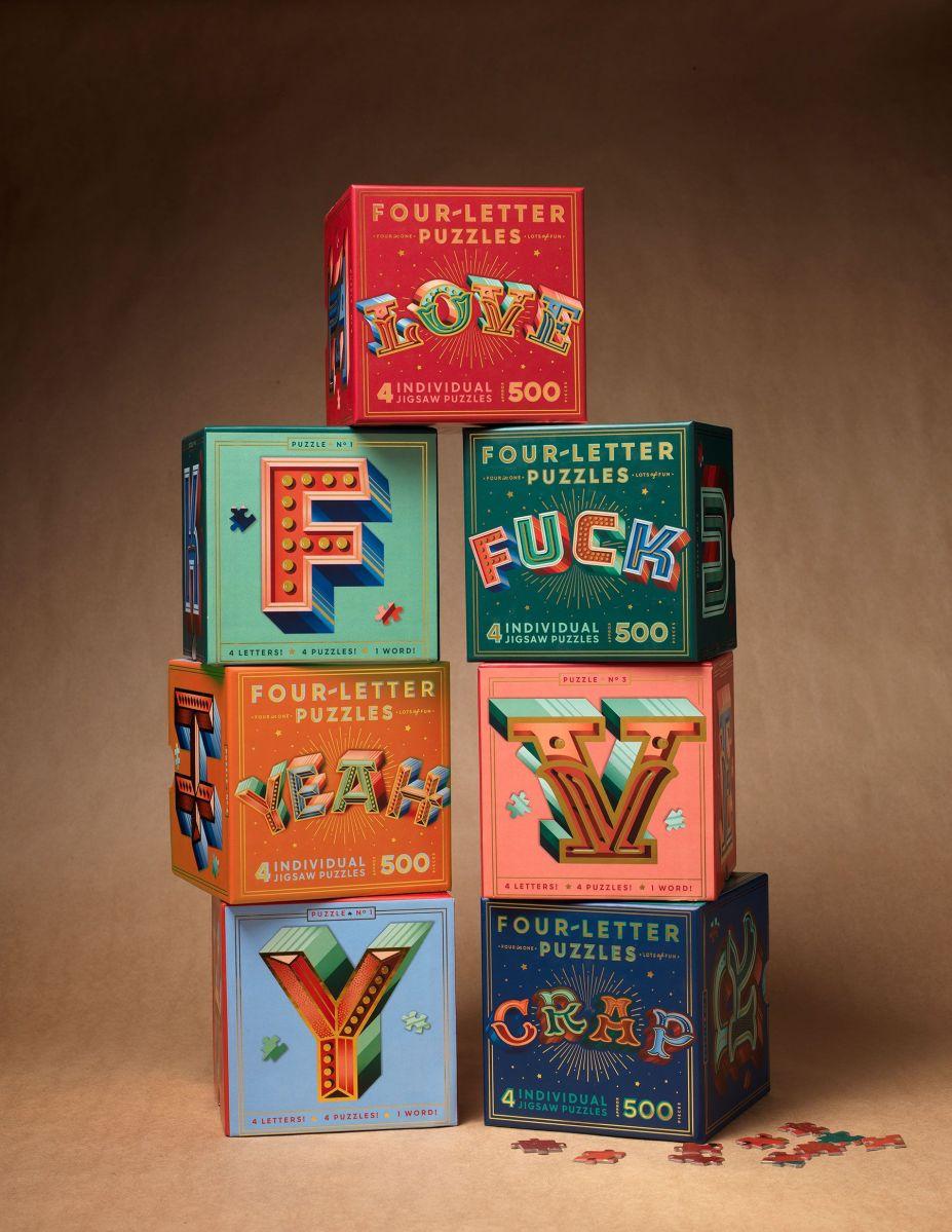 Puzzles para amantes del lettering