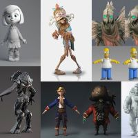 Modelado Profesional de Personajes Cartoon 3D