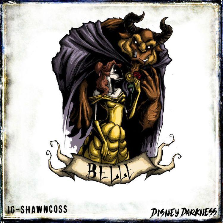 princesas disney que dan mucho miedo