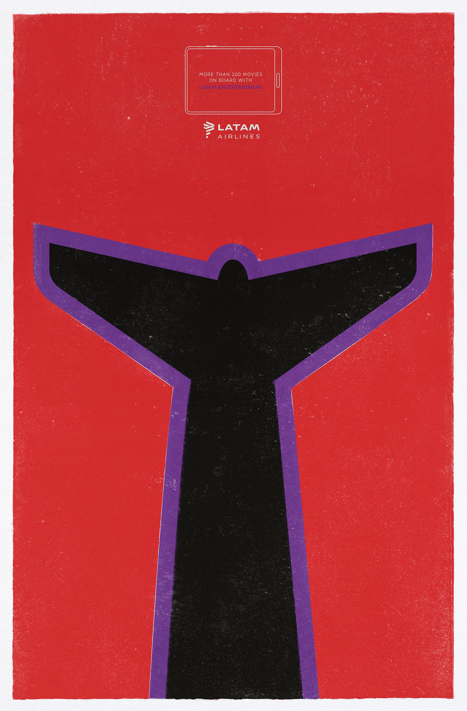 publicidad cartel de cine latam creatividad
