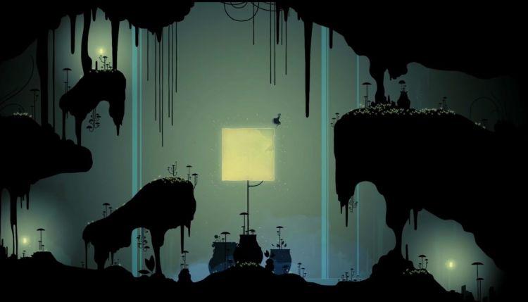videojuego gris, una bonita interfaz grafica de acuarela