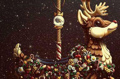 carteleria la navidad siempre vuelve de bakea