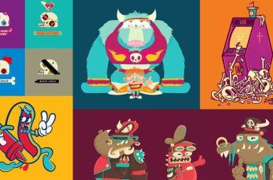 Diseño e ilustración de personajes increíbles