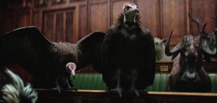 spot television animales politicos britanicos
