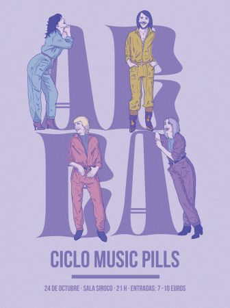 Cartel evento AbbA Music Pill