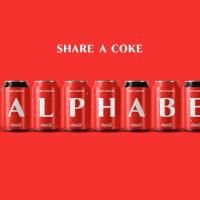 Coca-Cola ha pasado de los nombres al abecedario