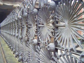 park guell railings