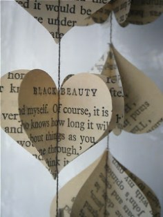 book page garlands
