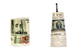'new york city tip jars', collected by jim walrod