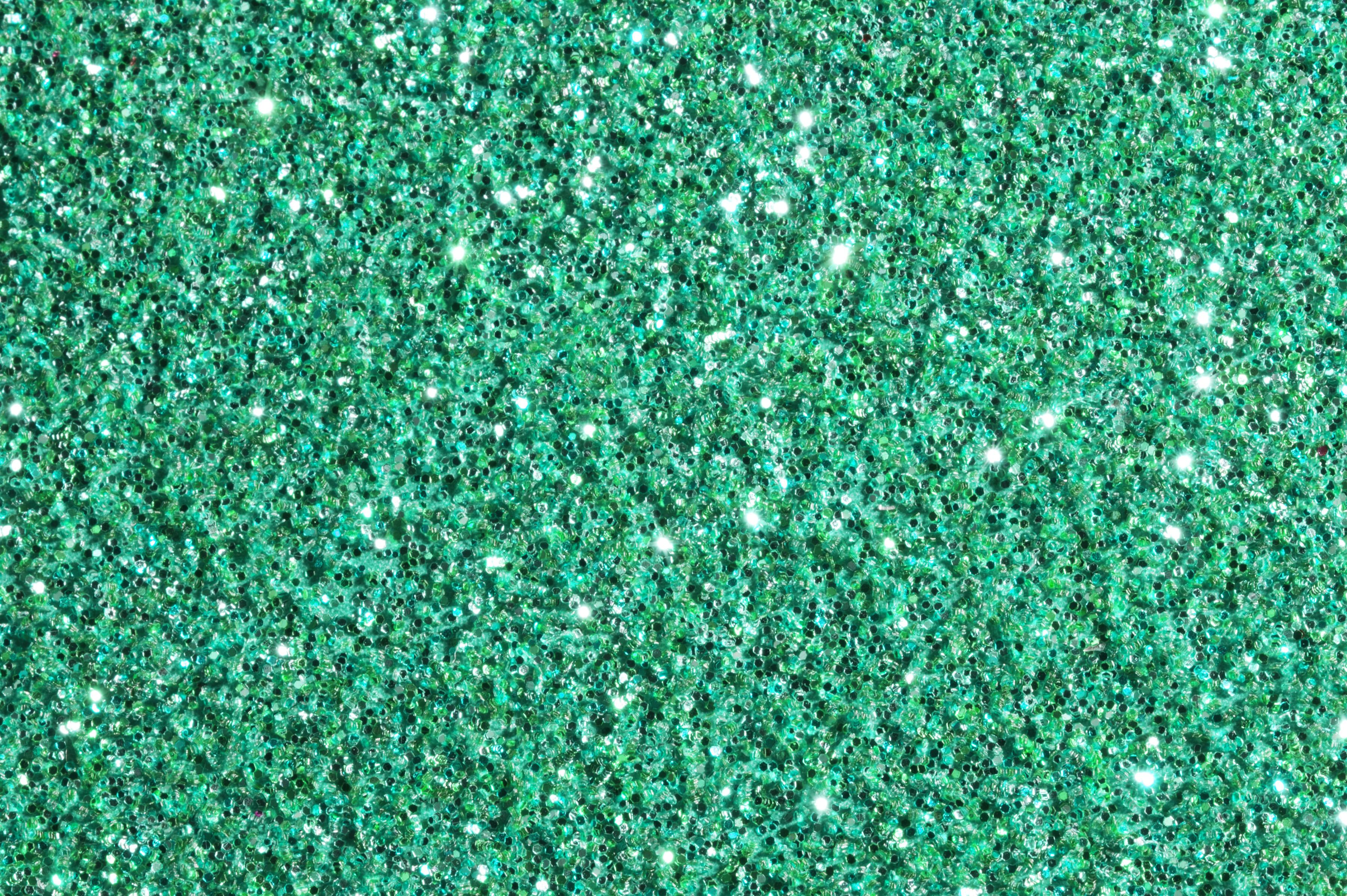 sparkling emerald green glitter