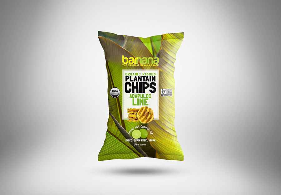 The Worlds First Organic Upcycled Plantain Chips  Retail