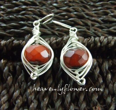Jewelry Inspired: Fire Agate in Sterling Silver ~ Finding Creativity Again…