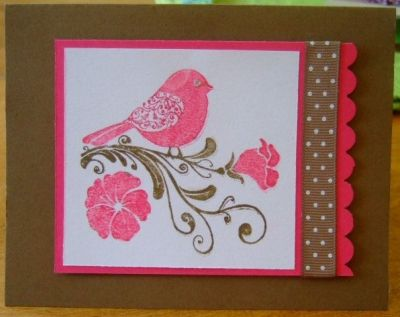 Artist Inspired: Inspired by Nature ~ Handmade Card by Hanway, Ink