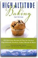 Colorado high altitude baking book cover