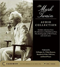 mark twain audio collection cover