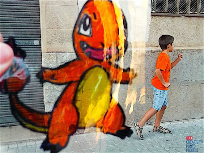 Plastic and Cartoons in Sabadell #CreativityPhotoProject.