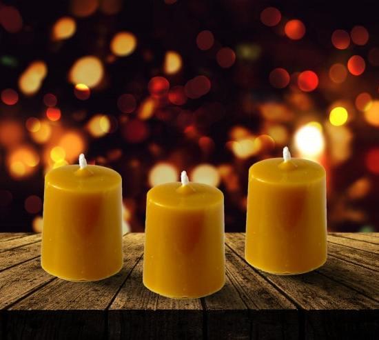 Восъчна свещ 7