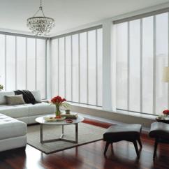 Window Coverings For Living Room Purple Furniture Sets Custom By Hunter Douglas 2012 Moto Sky Pv Pr Catalina