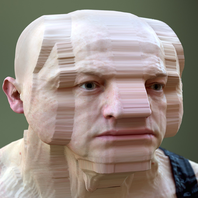 these distorted 3 d