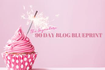 90 day blog blueprint