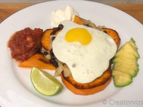 Delicious Southwest Sweet Potato Skillet