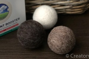 How To Make Eco-Friendly Felted Dryer Balls
