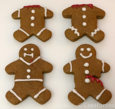 four spooky gingerbread men 2