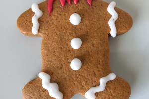 Spooky Gingerbread Men Cookie Recipe