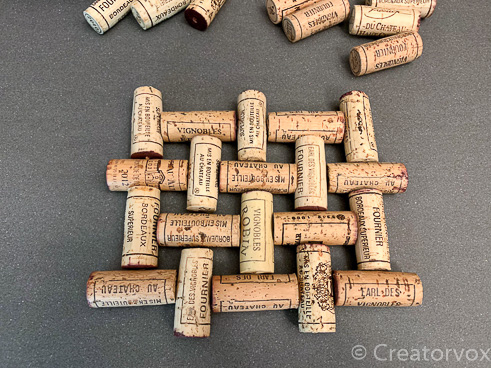 wine cork trivet project mock up