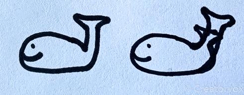 practice whale designs