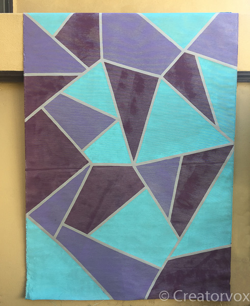 abstract removable fabric wall mural