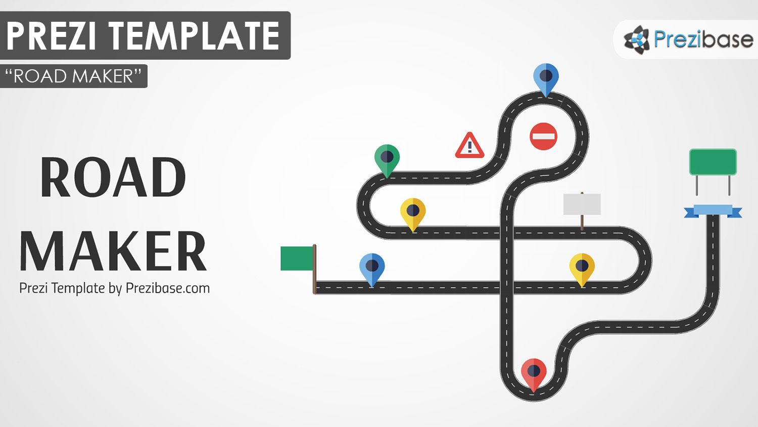 Custom Road Maker Prezi Presentation Template