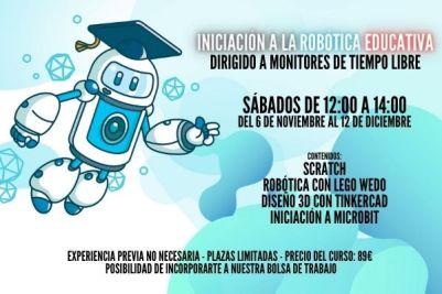 Curso para monitores de robótica educativa
