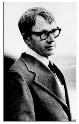 Donald Justice, photograph by Thomas Victor  (Howard, 1974)
