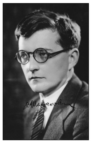 signed shostakovich 1930s XB