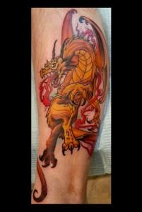 Gold dragon final