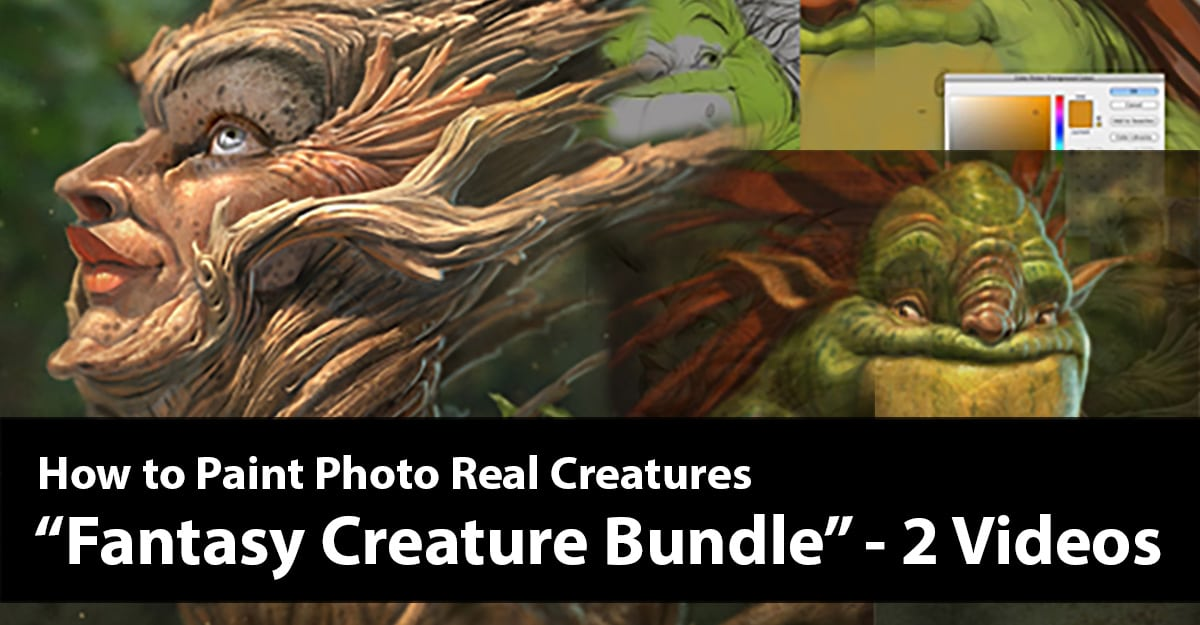 Fantasy Creature Bundle - The Art of Aaron Blaise