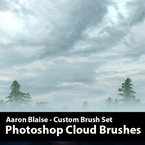clouds brush photoshop