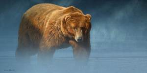 Aaron Blaise Grizzly Encounter Aaron Blaise Animal Art