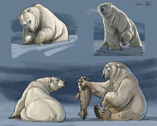 Polar-Bear-Character-Design