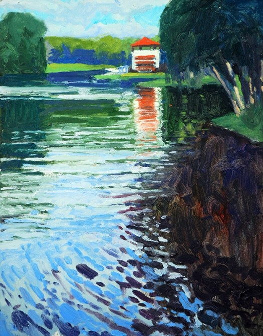 field study paintings