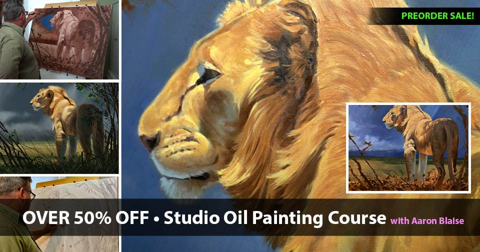 Oil Painting Course SALE!