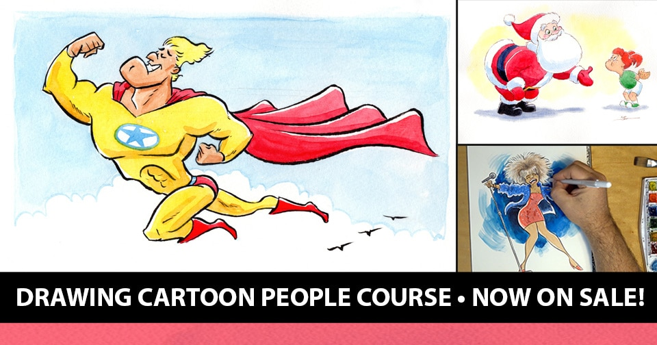 50 Off Preorder Sale Drawing Cartoon People Course