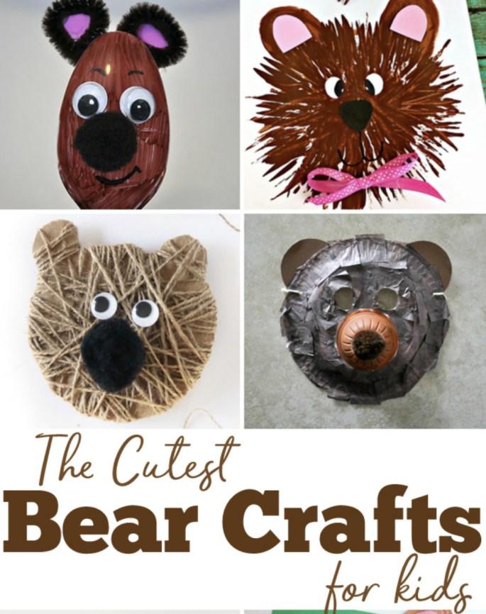 Bear Crafts for Kids