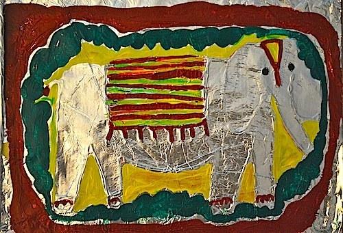 asain elephant craft kids