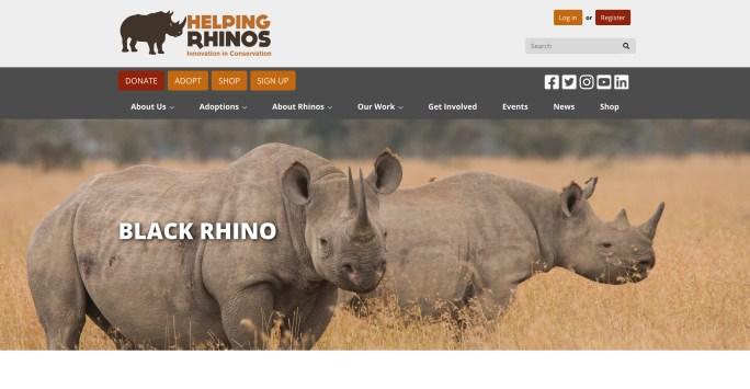 Helping Rhinos screenshot