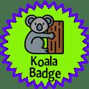 Koala badge