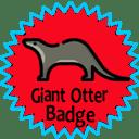 Giant Otter Badge