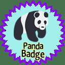 Giant Panda Badge icon
