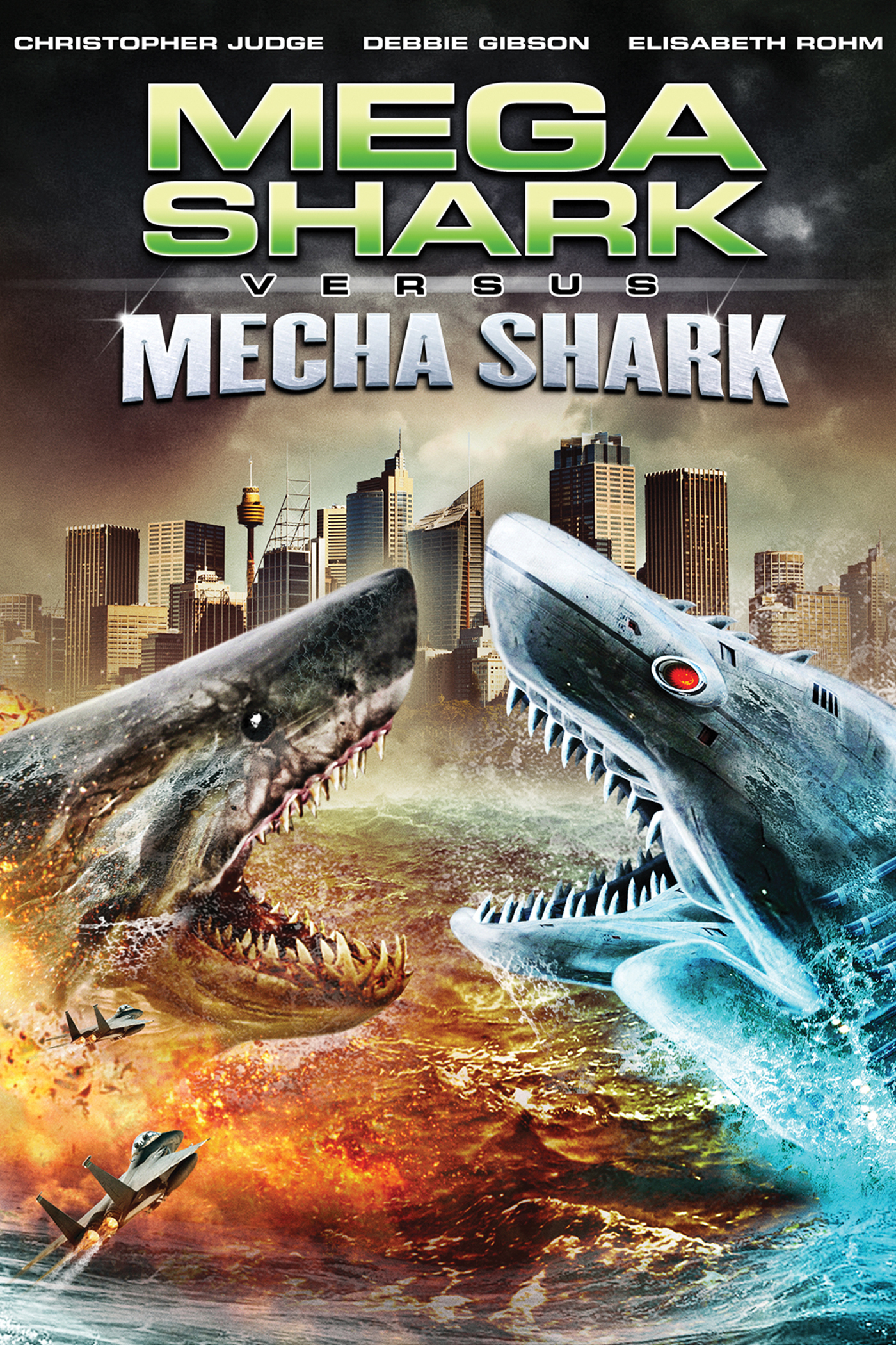Mega Shark vs Mecha Shark 2014  Creature Feature Corner